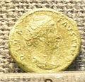 08 sesterzio di faustina I divinizzata, zecca di roma, 141-161 dc.jpg