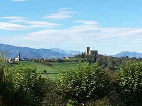 Mauvezin (village et château)