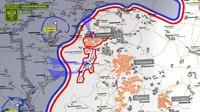 File:10 октября 2018 - Обстановка на линии соприкосновения за сутки - Карта обстрелов.webm