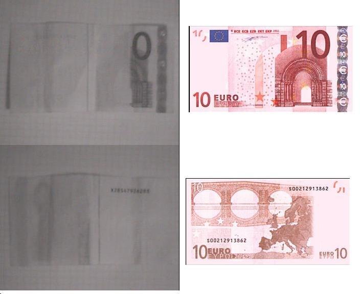 10 euro infrarot aufnahme