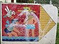 1210 Aistgasse 8-30 - Mosaik-Wegweiser (6) von Hilde Leiter 1969 IMG 3521.jpg