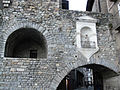 137 Camprodon, pont nou, imatge de Sant Roc.jpg
