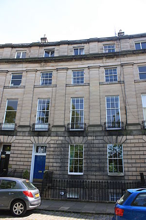 Alexander Maconochie, Lord Meadowbank - Lord Meadowbank's Edinburgh townhouse at 13 Royal Circus