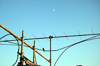 Earth–Moon–Earth communication - Image: 144MHz EME