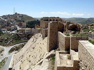 City in Karak Governorate, Jordan