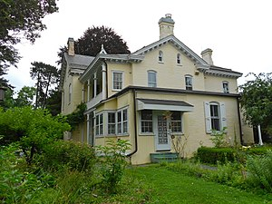 Bausman Farmstead - Bausman Mansion from the rear