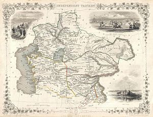 1851 Tallis and Rapkin Map of Independent Tartary (Central Asia) - Geographicus - IndepndentTartary-tallis-1851.jpg