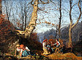 1864 Waldmueller Vorfruehling Wiener Wald anagoria.JPG