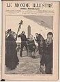 1879-01-18, Le Monde illustré, Une exécution en Espagne, Le supplice du garrot, Exécution de Oliva Moncasi, au Campo de Guardia, le 4 janvier, Vierge.jpg