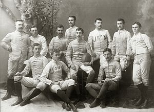 1887 Michigan Wolverines football team - Image: 1887 Michigan Wolverines football team