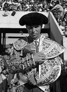 El Cordobés Spanish bullfighter