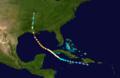 1909 Atlantic hurricane 9 track.png