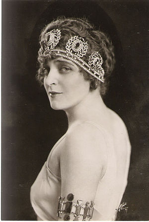 Marguerite Namara - Image: 1919 Chicago Opera, Thais