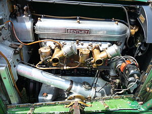 Bentley 3 Litre - Red label Speed high compression twin SU Engine PH1468 delivered March 1926 in a tourer with licence plate KM 2321
