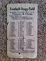 1926 Wisconsin VS Chicago Football program, Stagg Field, Chicago 2013-10-22 11-19.jpg