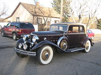REO Motor Car Company - 1931 REO Reo Royale Victoria Eight