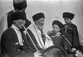 Kabardino-Balkaria - Balkars in 1936