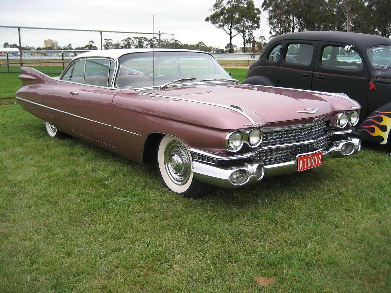 file 1959 cadillac coupe wikimedia commons. Black Bedroom Furniture Sets. Home Design Ideas