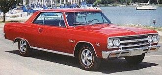 Chevrolet Chevelle - 1965 Chevelle Malibu SS396 Hardtop Coupe