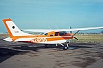 1968. Oregon Department of Forestry's Cessna 206 aerial survey plane. (35944891506).jpg