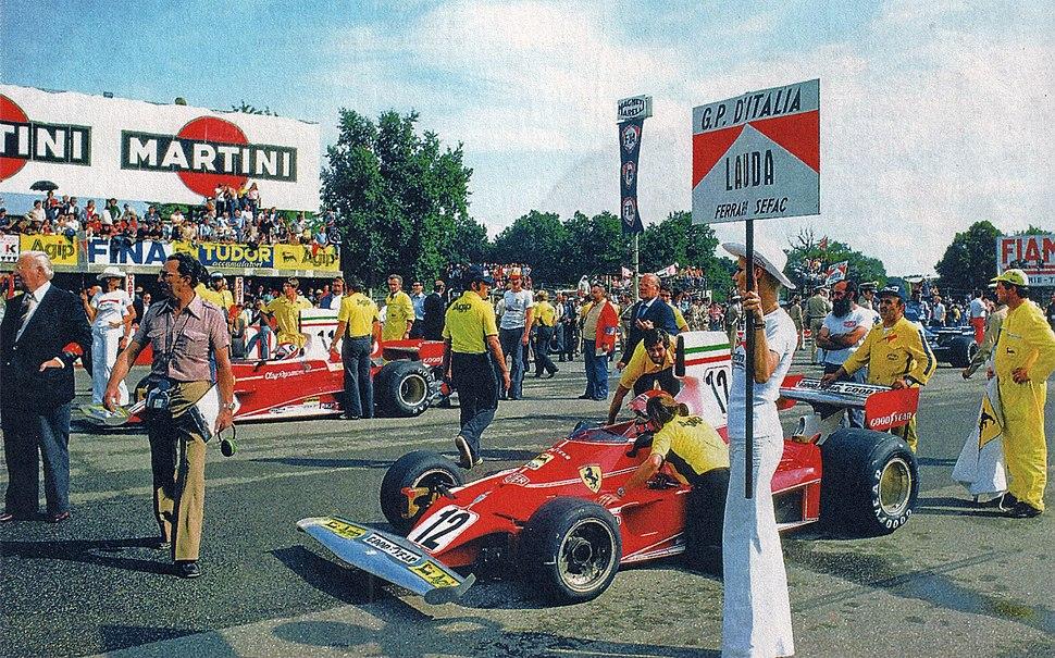 1975 Italian GP - Niki Lauda - Ferrari 312T