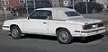 1985 Chrysler LeBaron (K) convertible rear.jpg