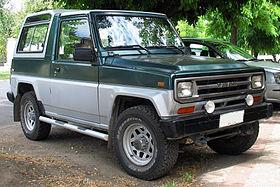 voiture 4x4 rocky