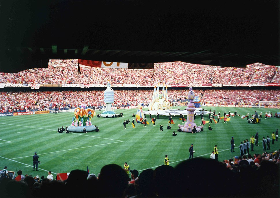 1999 UEFA Champions League Final opening ceremony