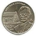 1 песо. Куба. 2009. 200 лет со дня рождения Авраама Линкольна.jpg