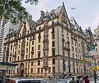 The Dakota building, where Lennon lived, composed and recorded a demo of the song on cassette
