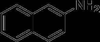 2-Naphthylamine - Image: 2 Naphthylamine