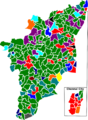 2001 tamil nadu legislative election map by parties.png