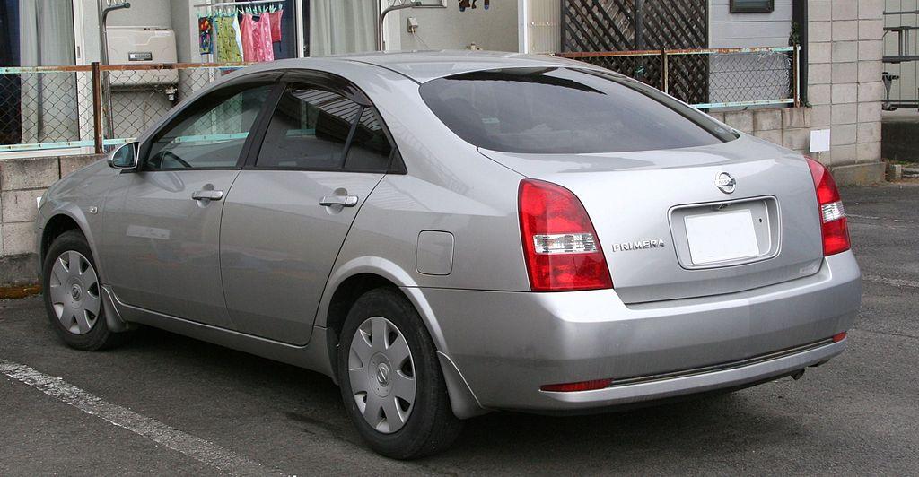 Nissan Primera (P12) седан