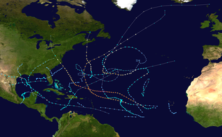 2003 Atlantic hurricane season Summary of the relevant tropical storms