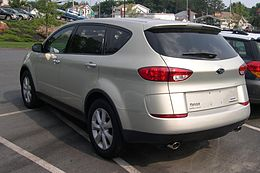 2005 Subaru B9 Tribeca rear 34.jpg