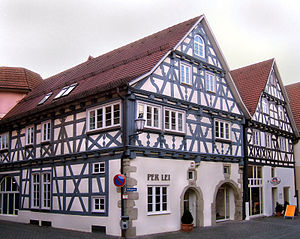Schorndorf - Old buildings in the town