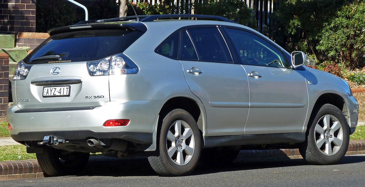 File:2006-2007 Lexus RX 350 (GSU35R) Sports wagon 01.jpg - Wikimedia ...
