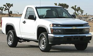 Chevrolet Colorado - Image: 2006 Chevrolet Colorado regular cab NHTSA