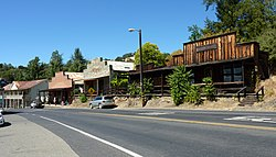 Historic buildings in Amador City