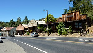 Amador City, California - Historic buildings in Amador City