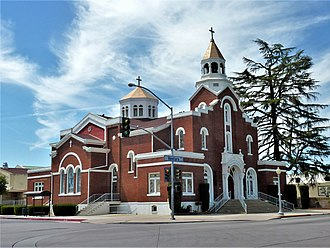 Holy Trinity Church, Fresno - The Holy Trinity Church in 2009.