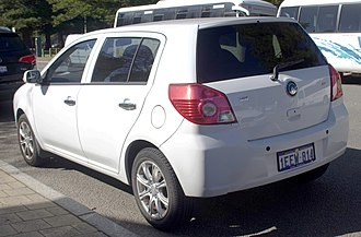 Geely MK - Image: 2009 2013 Geely MK GL hatchback (2018 07 19) 02