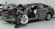 The 2010 Accord Crosstour EX L Crash Tested By The Insurance Institute For  Highway Safety (IIHS)