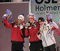 2011-02-26 - WCH 2011 Skijumping NH - Podium.jpg