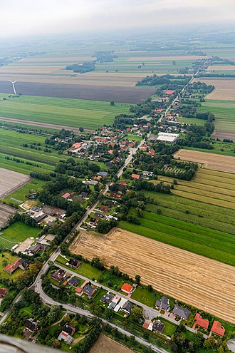 Osterbruch - Aerial view in 2011