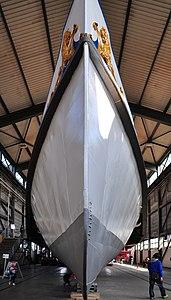 2012 'Tag der offenen Werft' - ZSG Werft Wollishofen - Dampfschiff Stadt Zürich (Renovation) 2012-03-24 13-55-18.jpg