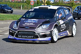 Ott Tänak - Tänak at the 2012 Rallye de France