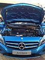 2012 Blue Mercedes A-Class W176 (7661445956).jpg