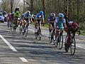 2012 Ronde van Vlaanderen, Descending Nieuw Kwaremont - Ballan, Iglinski, Chavanel, Van Summeren, Boonen, Sagan, Pozzato (6897857708).jpg