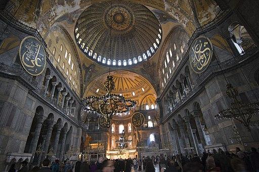 2013-01-03 Interior of Hagia Sophia 01